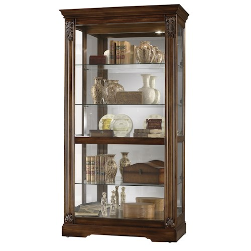Howard Miller Furniture Trend Designs Curios Andreus Display Cabinet