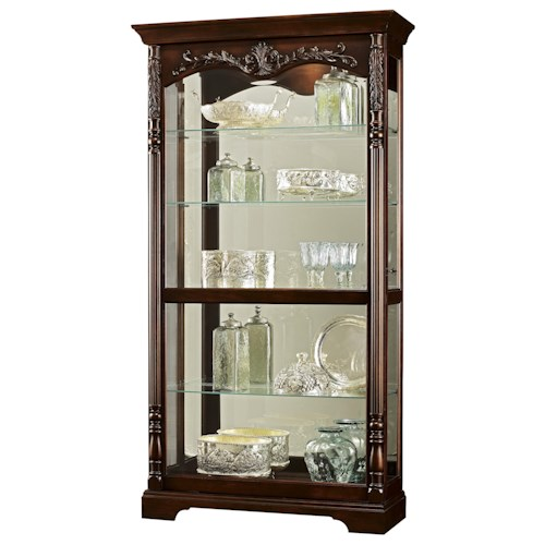 Howard Miller Furniture Trend Designs Curios Felicia Display Cabinet
