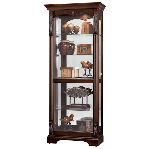 Howard Miller Furniture Trend Designs Curios Bernadette Display Cabinet