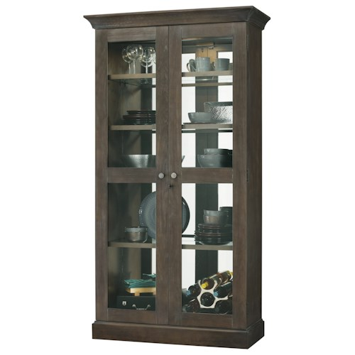 Howard Miller Cabinets Densmoore Display Cabinet with Interior Lighting