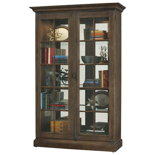 Howard Miller Cabinets Clawson Door Cabinet with Adjustable Shelves