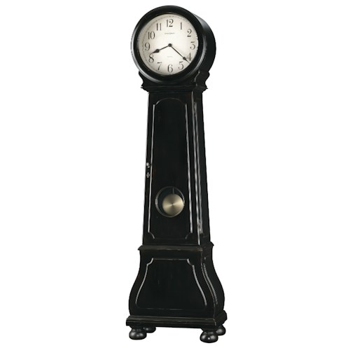 Howard Miller Clocks Nashua Grandfather Clock with Antique Brass Pendulum