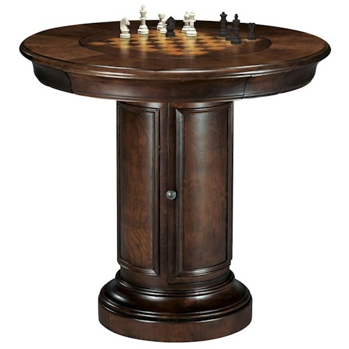 Howard Miller Ithaca Game & Pub Table with Storage Base