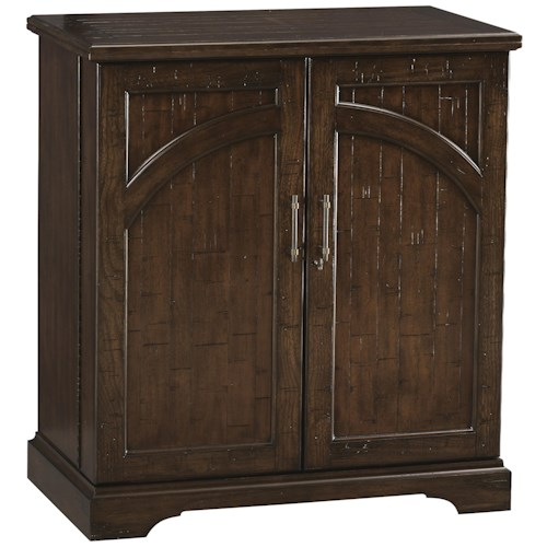 Howard Miller Wine & Bar Furnishings Hide-a-Bar Benmore Valley Wine and Bar Cabinet
