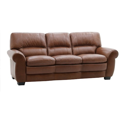HTL 10502 Casual Sofa with Rolled Arms