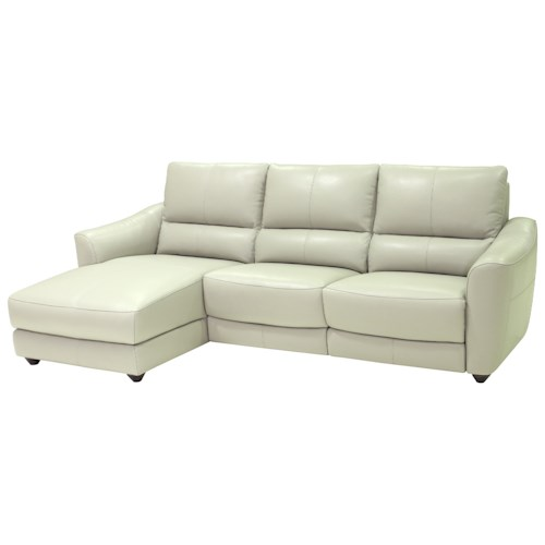 HTL 10583 Sectional Sofa with Chaise