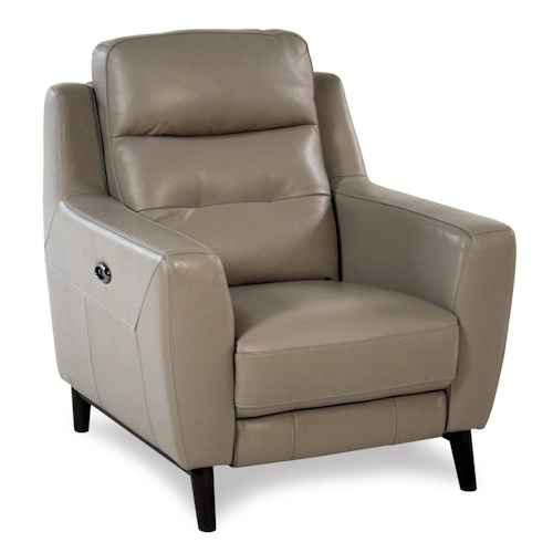 Giovani Fusion Power Leather Recliner