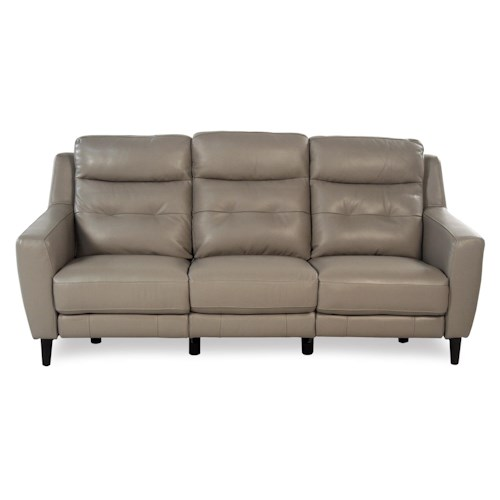 Giovani Fusion Power Reclining Leather Sofa