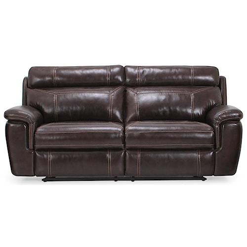 Warehouse M 9176 Contemporary Power Reclining Sofa