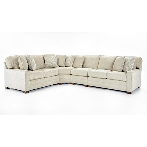 Huntington House 2062 Four Piece Sectional Sofa