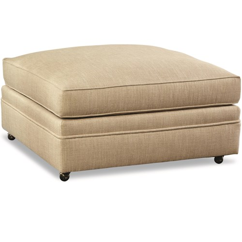 Huntington House 7100 Oversized Square Cocktail Ottoman