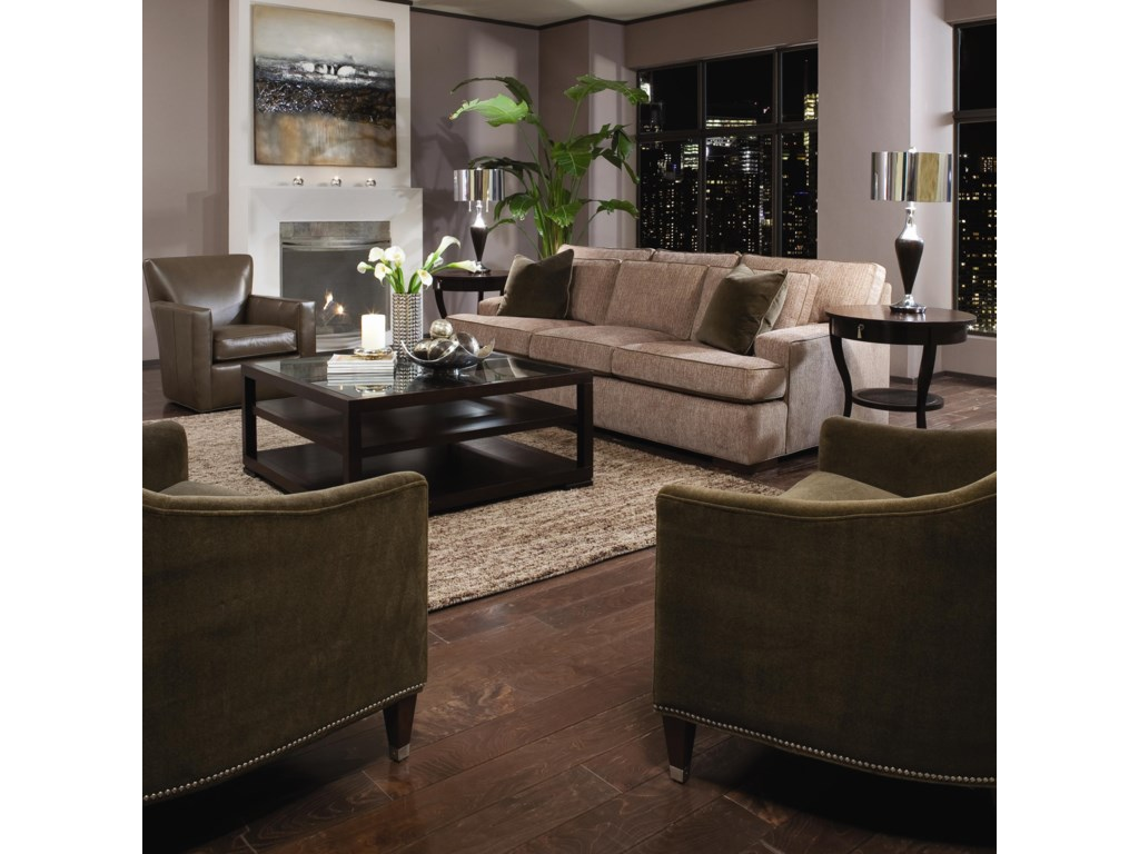 Shown in Living Room with Accent Chairs