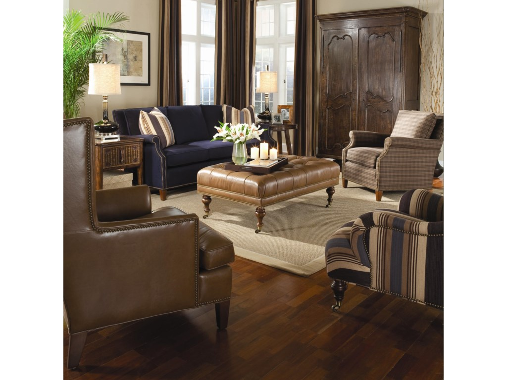 Shown with Coordinating Sofa and Accent Chairs