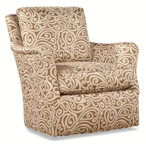 Huntington House 7195 Upholstered Chair with English Arms