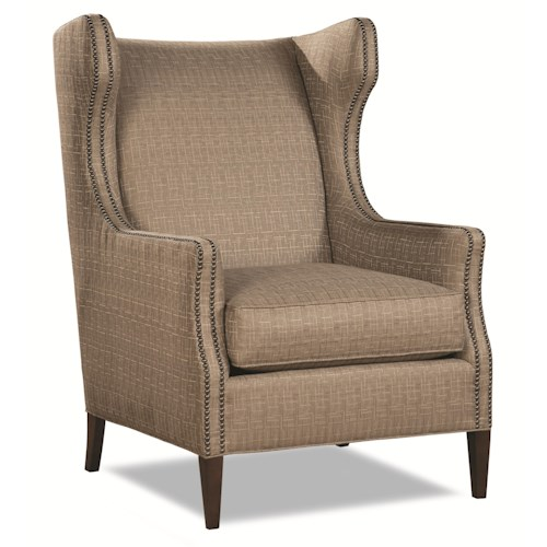 Huntington House 7446 Transitional Wing Chair