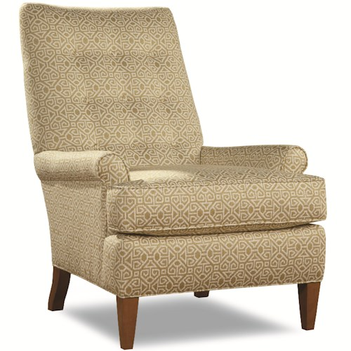 Huntington House 7486 Traditional Chair with Button Tufted Back