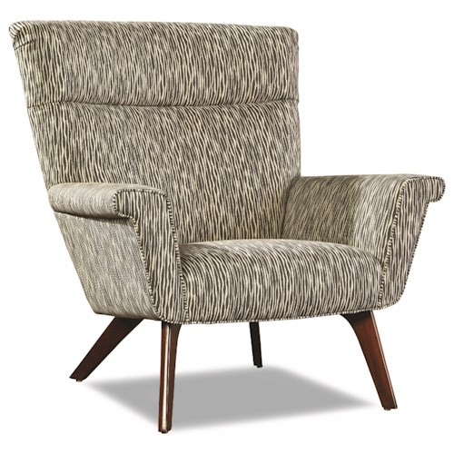 Huntington House 7723 Accent Chair with Flared Arms