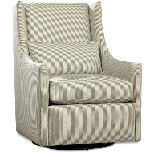 Huntington House 7731 Swivel Glider with Track Arms
