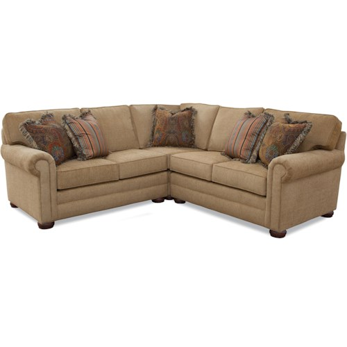 Huntington House Solutions 2053 Customizable Sectional