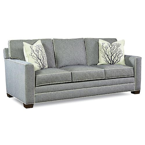 Huntington House Solutions 2053 Customizable 3 Cushion Stationary Sofa
