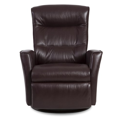 IMG Norway Crown Standard-Size Crown Relaxer Rocker-Glider Recliner with 360-Degree Swivel Base & Adjustable Support Features