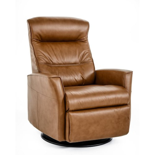 IMG Norway Crown Large-Size Relaxer with Manual Recline, Swivel, Glide and Rock