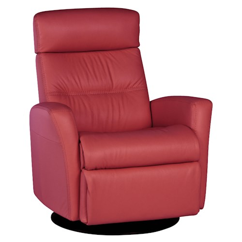 IMG Norway Divani  Modern Divani Relaxer with Swivel, Recline, Rock and Glide in Standard Size