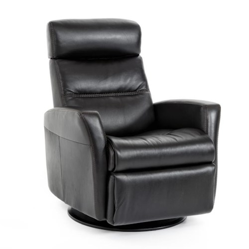 IMG Norway Divani  Modern Divani Relaxer with Swivel, Recline, Rock and Glide in Large Size