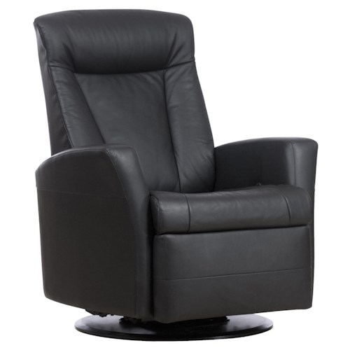 IMG Norway Prince Prince Relaxer Recliner in Standard Size with Adjustable Headrest, Swivel, Glide and Recline