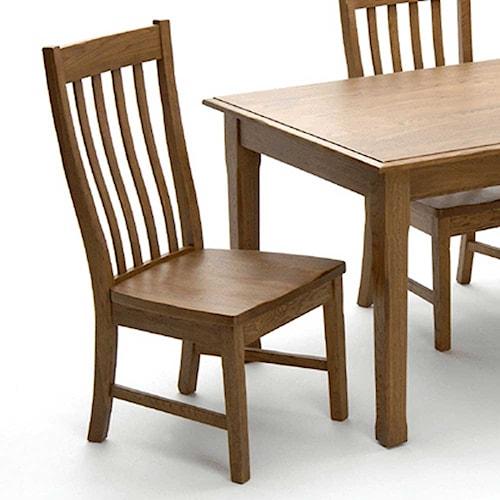 Intercon Cambridge Slat Back Dining Side Chair