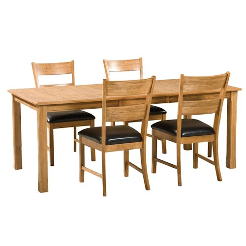 Intercon Family Dining 5Pc Dining Room