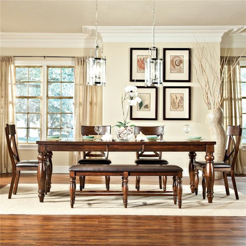Intercon Kingston  6Pc Dining Room
