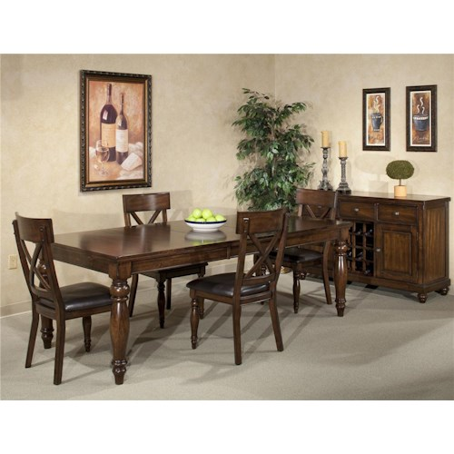 Intercon Kingston  8Pc Dining Room