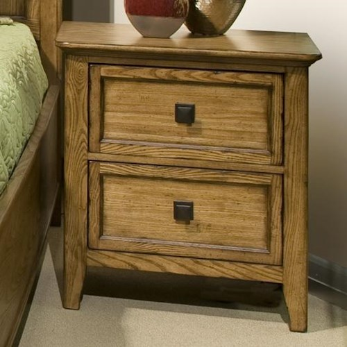 Intercon Alta Two-Drawer Night Stand