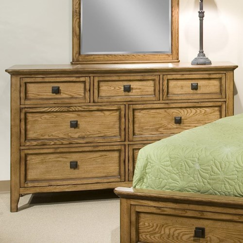 Intercon Alta Seven-Drawer Dresser