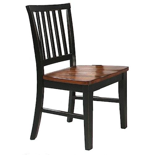 Intercon Arlington Slat Back Side Chair