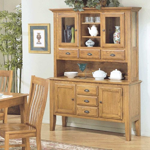 Intercon Cambridge Four Door, Six Drawer China Cabinet