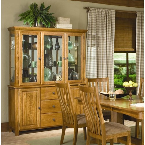 Intercon Highland Park  Dining China Cabinet