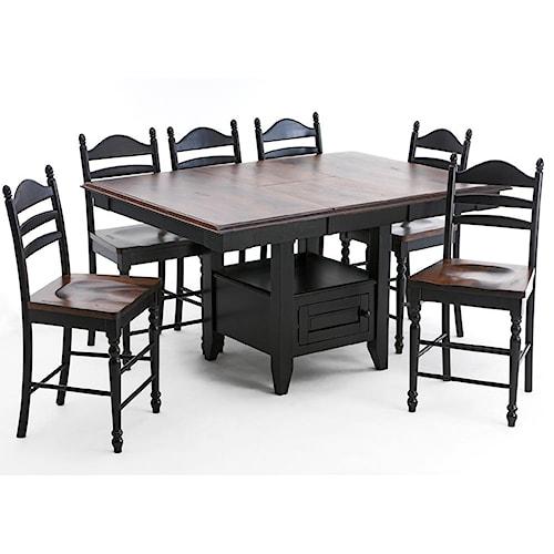 Intercon Hillside Village  Gathering Island Table