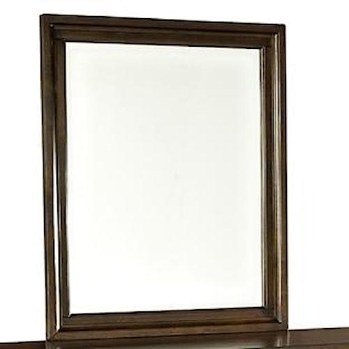 Intercon Jackson Portrait Dresser Mirror with Beveled Glass
