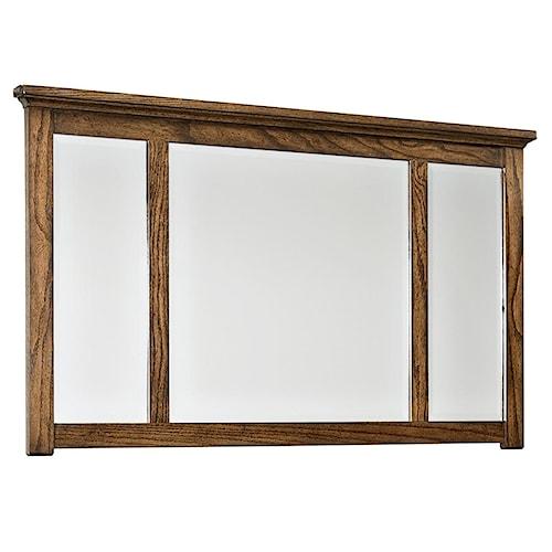 Intercon Oak Park Landscape Dresser Mirror