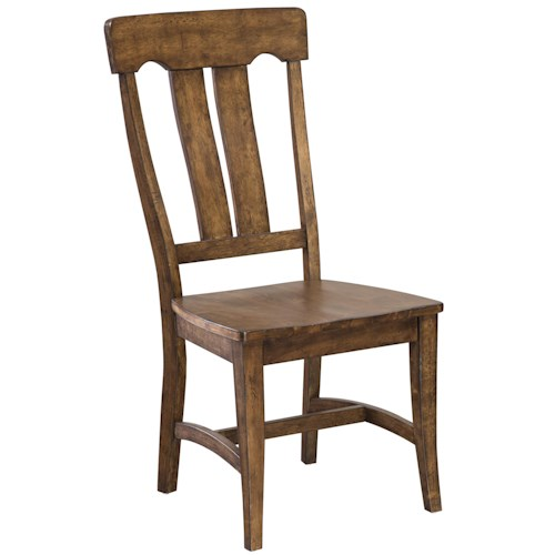 Intercon The District Slat Back Side Chair