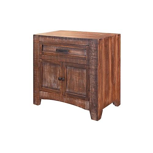 International Furniture Direct Porto Nightstand
