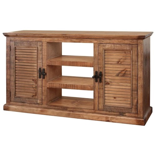 International Furniture Direct Havana Rustic Sofa Table