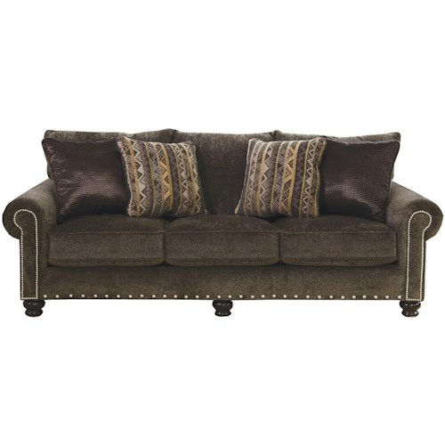 Jackson Furniture Avery Brown Sofa Great American Home Store Sofas