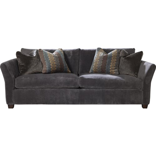 Jackson Furniture Brighton Stationary Sofa with Casual Style