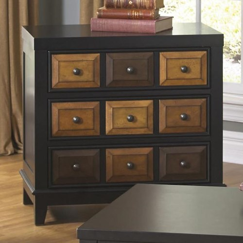 Jackson Furniture 857 Tables Accent Chest with Multi Color Finish