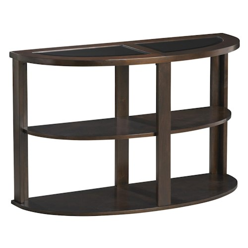 Jackson Furniture 891 Tables Contemporary Sofa Table with Shelf