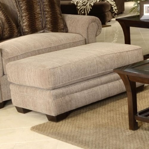 Jackson Furniture Anniston Upholstered Ottoman