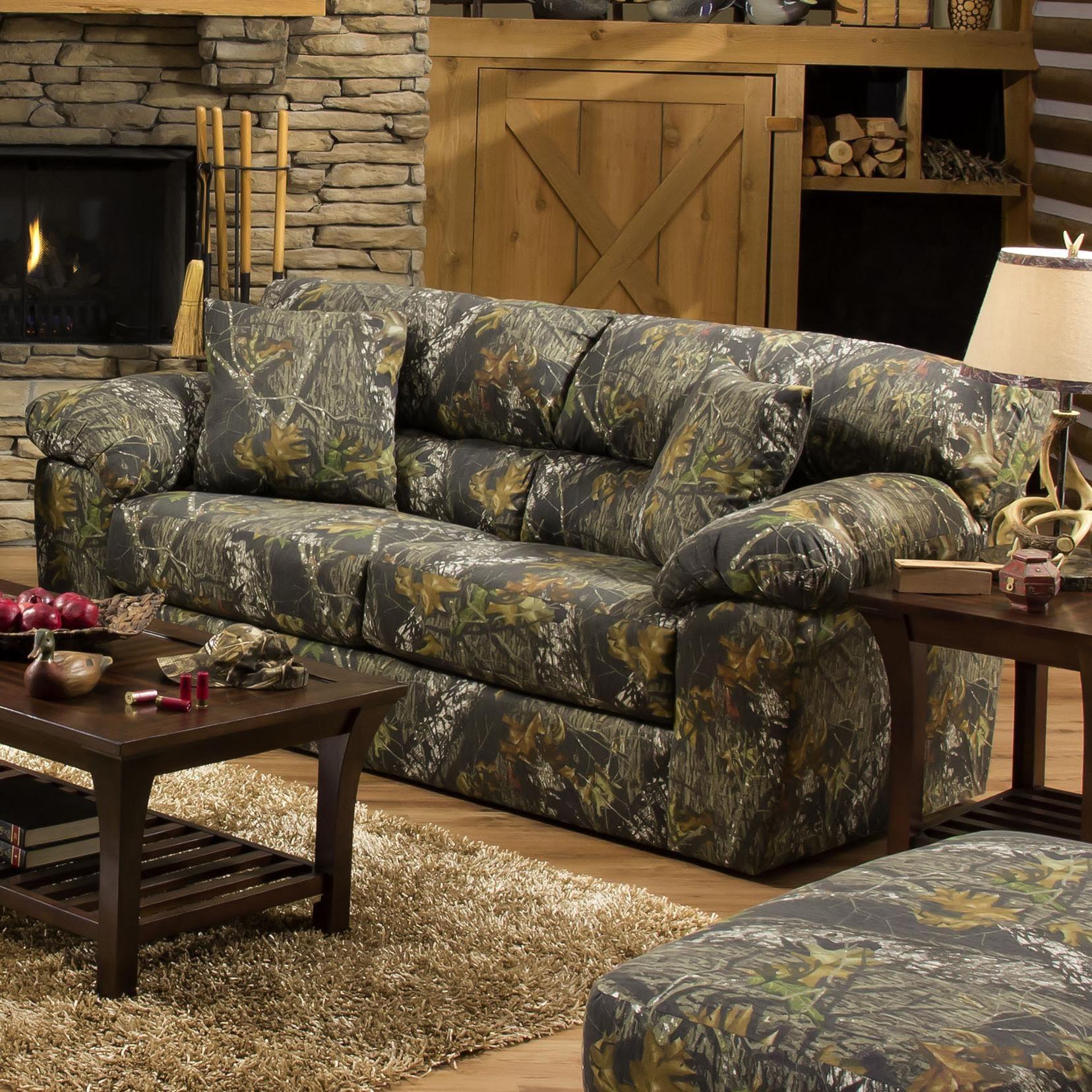 Jackson Furniture Big Game Camouflage Two Seat Sleeper Sofa